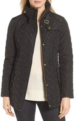 Cole Haan Quilted Short Coat