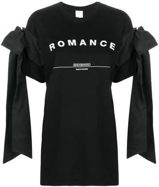 Brognano Romance print tied T-shirt