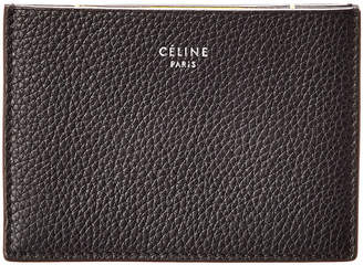 Celine Leather Card Holder