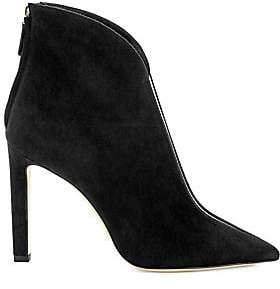0e6701100de Jimmy Choo Women s Bowie Translucent Strip Suede Ankle Boots