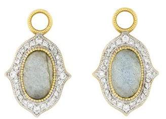 Jude Frances 18K Labradorite & Diamond Moroccan Earring Charms