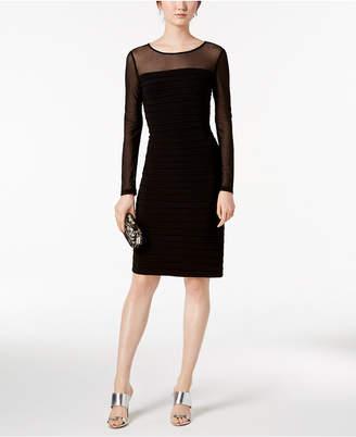 Adrianna Papell Illusion Bodycon Dress