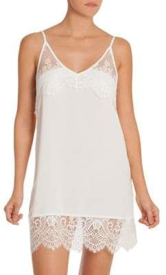 Dar Lin In Bloom Darlin Lace-Trimmed Chemise