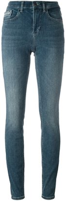 Calvin Klein Jeans high rise skinny jeans $118.20 thestylecure.com