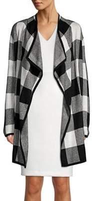 Jones New York Textured Colorblock Jacket
