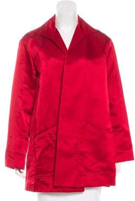 Lafayette 148 Satin Short Coat