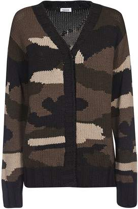 P.A.R.O.S.H. Camouflage Knitted Cardigan