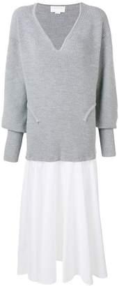 Esteban Cortazar flared sweater dress