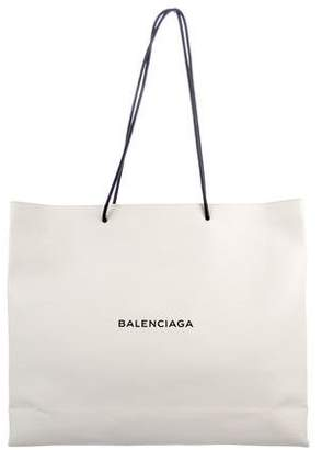 Balenciaga 2017 Large Shopping Tote