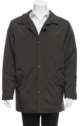Loro Piana Twenty K Storm System Light Weight Button-Up Jacket
