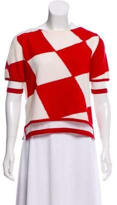 Fendi Cashmere Short Sleeve Sweater w/ Tags