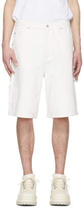 Perks And Mini White Denim Rocco Shorts