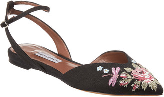 Tabitha Simmons Vera Embroidered Flat