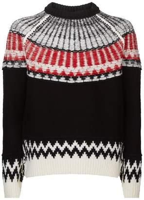 Burberry Chunky Fair Isle Sweater