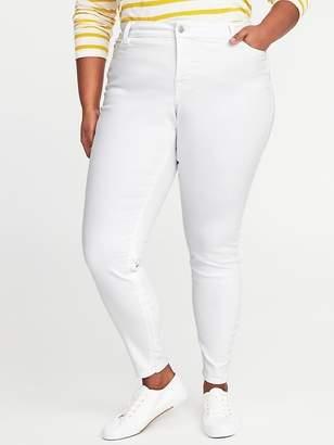 Old Navy High-Rise Secret-Slim Clean Slate Plus-Size Rockstar Jeans