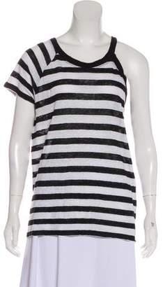 IRO Linen Striped Top