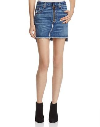 rag & bone/JEAN O-Ring Skirt $225 thestylecure.com
