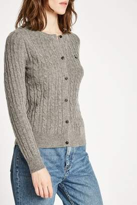 Jack Wills Holywell Cable Cardigan