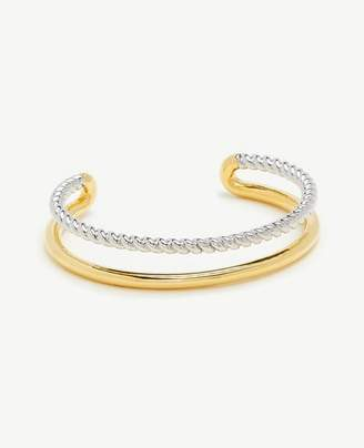 Ann Taylor Twisted Metal Bracelet