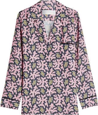 1e6b3d14b6 at STYLEBOP.com · Victoria Beckham Victoria Printed Pyjama Shirt