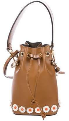 Fendi Mini Floral Mon Tresor Bucket Bag