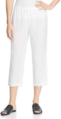 Eileen Fisher Cropped Organic Linen Pants