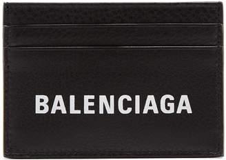 Balenciaga Logo cardholder