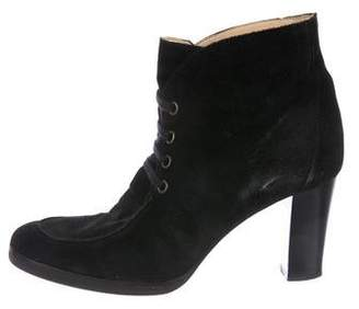 KORS Suede Ankle Boots