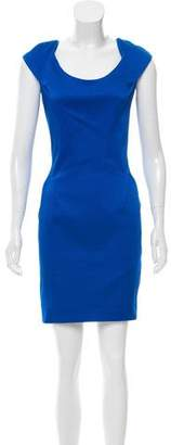 Zac Posen Structured Mini Dress