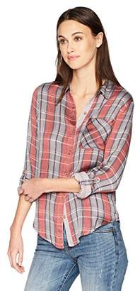 Lucky Brand Women's Plaid Shirt