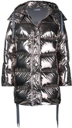 RED Valentino shiny puffer jacket