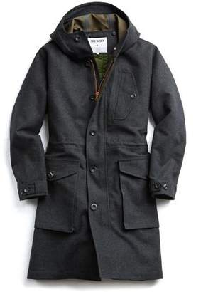 Todd Snyder + Private White V.C. Exclusive Private White V.C Wool Parka in Charcoal