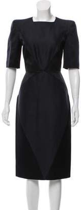 Gianfranco Ferre Short Sleeve Midi Dress