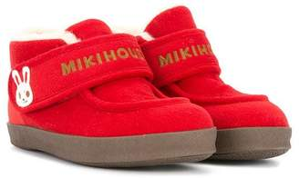 Mikihouse Miki House moccasin boots