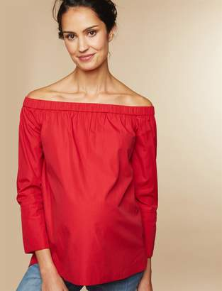 Motherhood Maternity Off The Shoulder Maternity Top