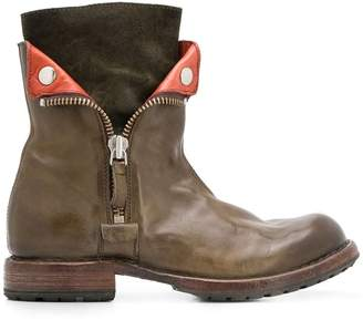 Moma side zipped boots