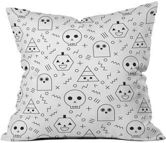 Deny Designs Deny Zoe Wodarz Game Over Indoor/Outdoor Throw Pillow