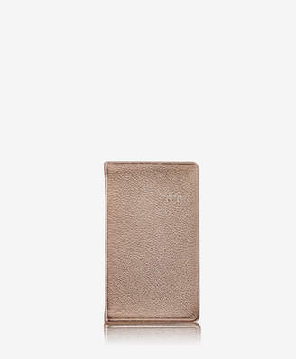 "GiGi New York 2019 5"" Pocket Datebook, Rose Gold Metallics Leather"