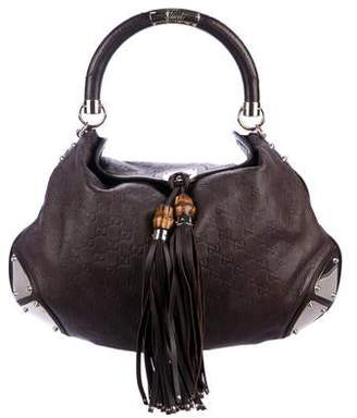 Gucci Guccissima Large Indy Hobo
