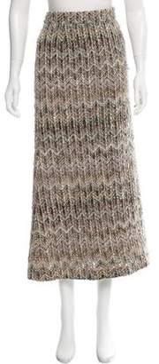 Missoni Silk Chevron Skirt