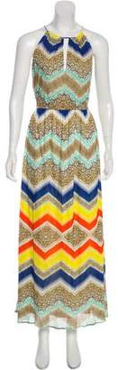 Milly Maxi Print Dress w/ Tags