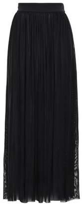 Jets Aspire Pleated Mesh Maxi Skirt