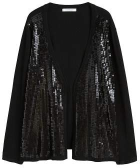 Violeta BY MANGO Sequin cardigan