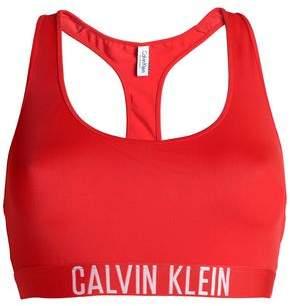 Calvin Klein Jacquard-trimmed Bikini Top 8759c586a