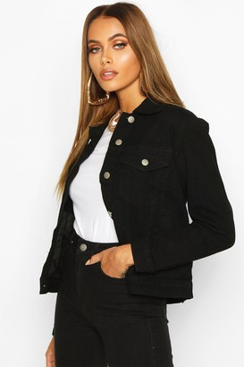 boohoo Western Denim Jacket