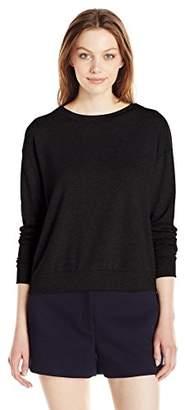 Michael Stars Women's French Terry Longsleeve Sweatshirt