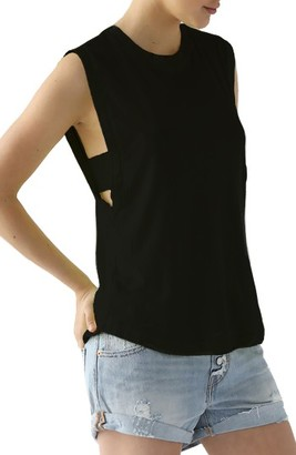 Women's Lamade Cutout Side Tank $44 thestylecure.com