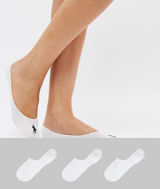 Polo Ralph Lauren 3 Pack Liner Socks
