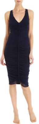 Jean Paul Gaultier Gathered Front Dress