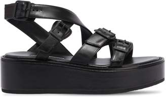Ann Demeulemeester 55mm Leather Wedges